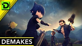 Demakes? Final Fantasy XV: Pocket Edition and Dragon Quest XI 3DS Are Changing the Game!