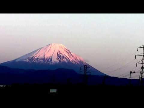 Mt.fuji・Happiness  Walk・Satoshi  Omura broze statue