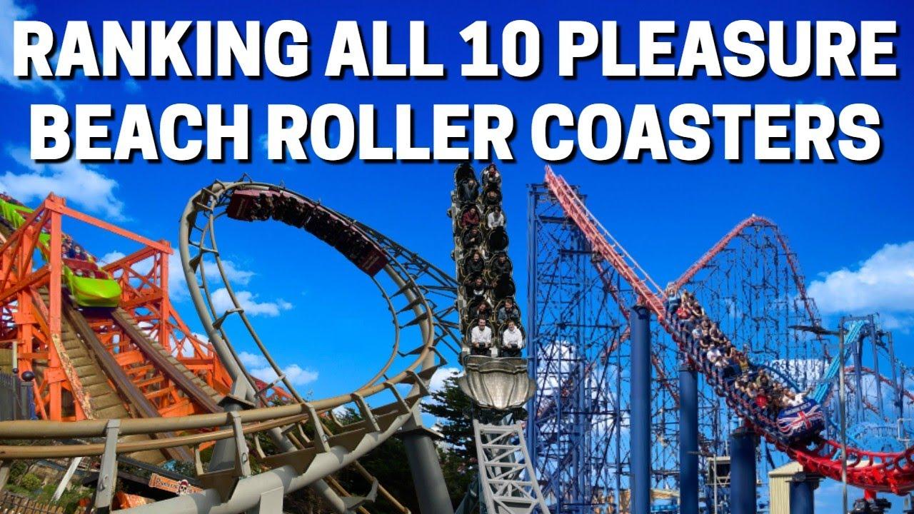 Ranking ALL 10 Blackpool Pleasure Beach Roller Coasters