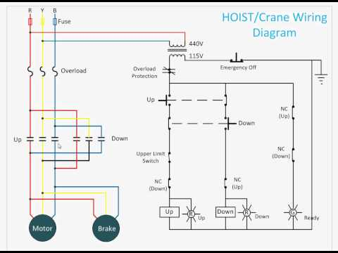 Hoist Control Circuit - YouTube on