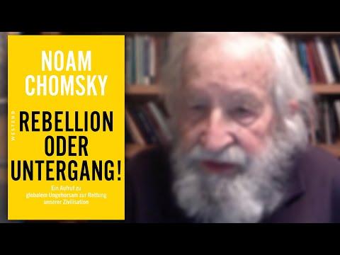 Rebellion oder Untergang! - Noam Chomsky im Gespräch mit Michael Schiffmann