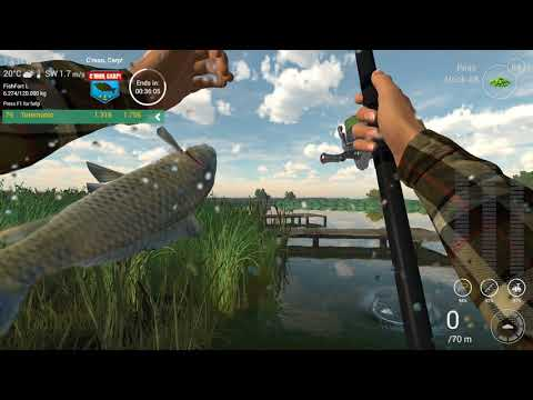 Fishing Planet : C'mon Carp Partly Cloudy