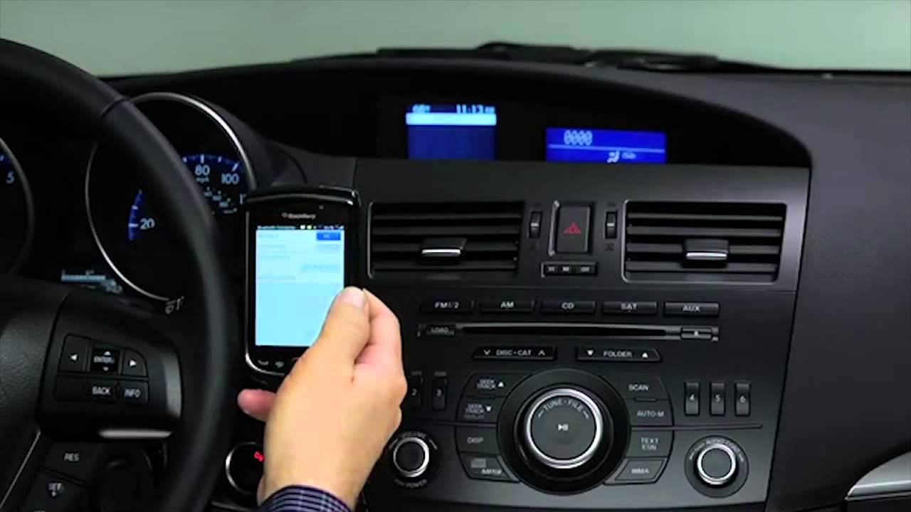 2013 Mazda3 Bluetooth Hands Free Phone for Standard Audio Systems Tutorial