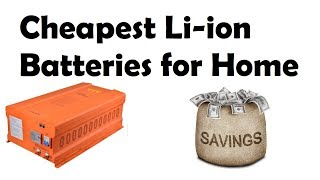 Cheap Lithium Solar Batteries for Home with Price