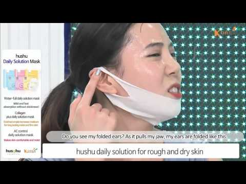 [Koreadepart] hushu-ALL IN ONE DUAL MASK / Daily Solution Mask