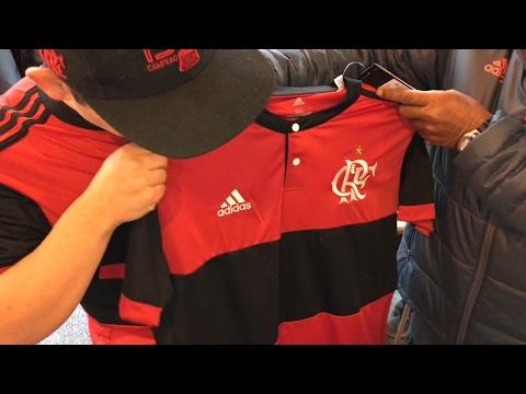 Unboxing Nova Camisa do Flamengo 2017 Rubro-Negra!