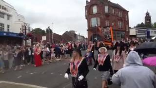 Orange walk Bathgate 2014 part 1