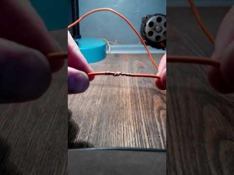 Как сделать прочную скрутку гибкого провода