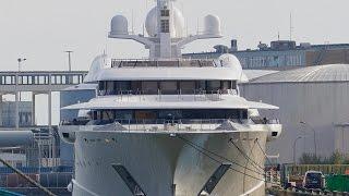 Video 4K   Mega Yacht PELORUS in Bremerhaven / Germany download MP3, 3GP, MP4, WEBM, AVI, FLV Desember 2017