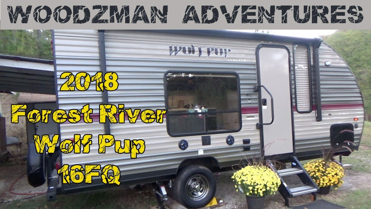 2018 Forest River Wolf Pup 16FQ Travel Trailer Walk Through ! Camping World  Lowell Arkansas