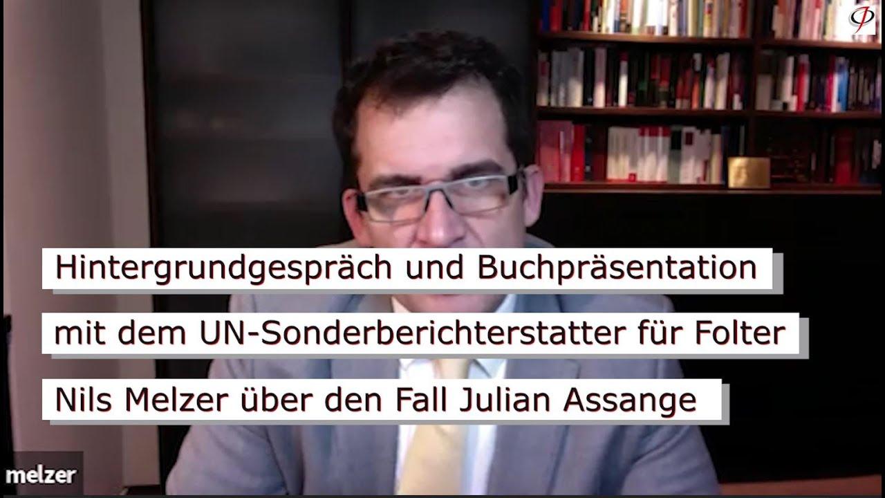 Fall Julian Assange: Geschichte einer politischen Verfolgung durch den Westen mit Prof. Nils Melzer