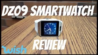 DZ09 Smartwatch Unboxing and Review