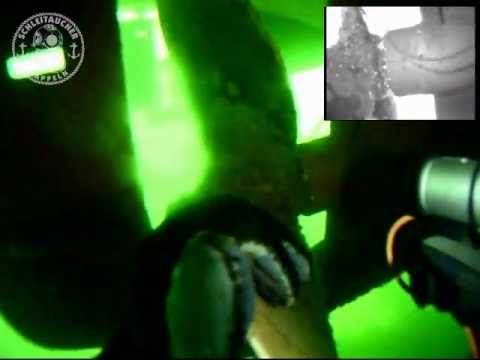 Commercial Diving: CCTV Hull Inspection