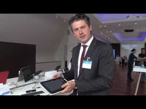 Intel Education Tablet 2in1-Referenzdesign Hands-On @Intel Futureshowcase
