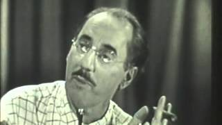 You Bet Your Life - 1949 CBS Pilot Episode (FULL)