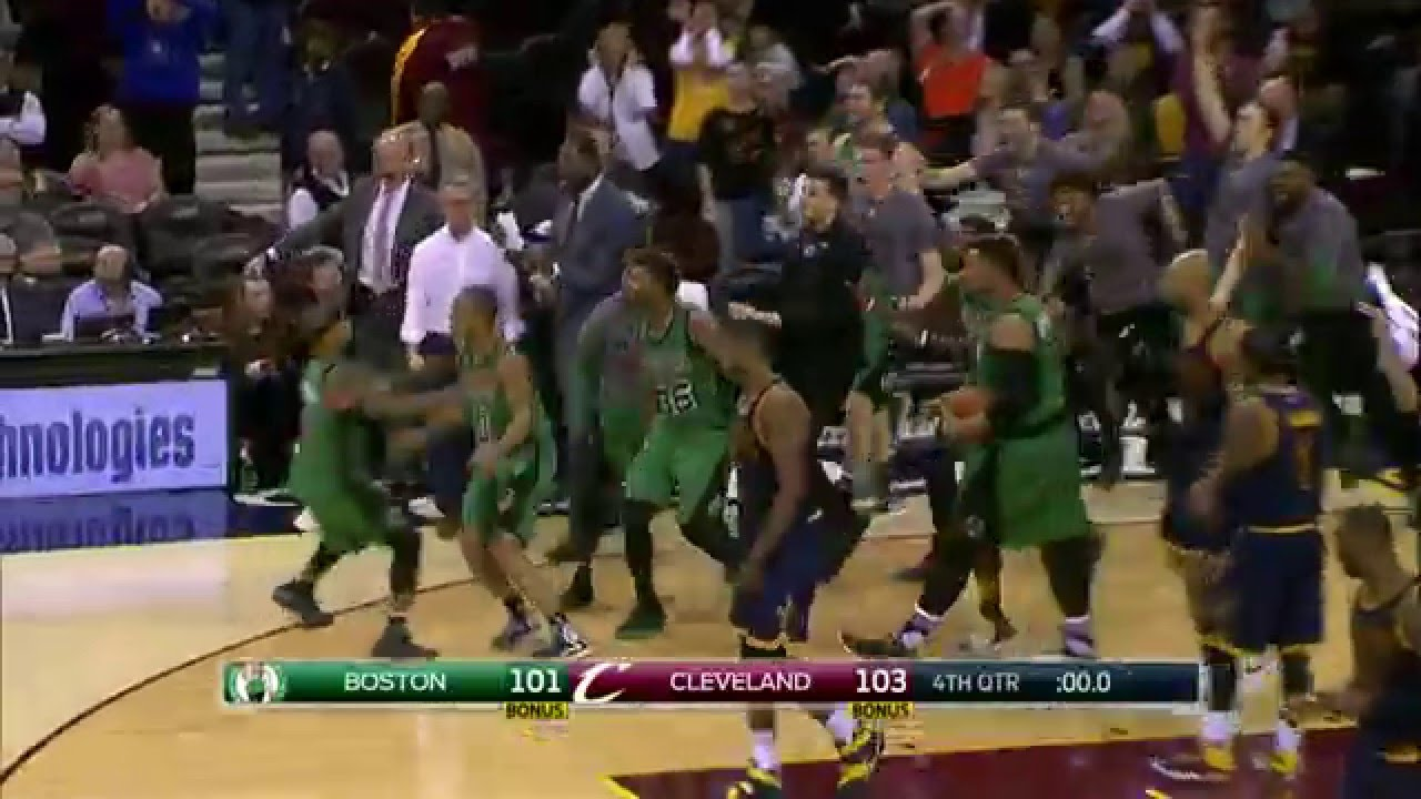 Avery Bradley Hits the Game Winner in ...