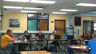Board Meeting 6/13/2018