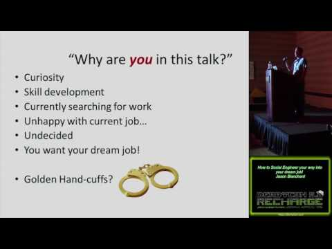 115 How To Social Engineer Your Way Into Your Dream Job Jason Blanchard