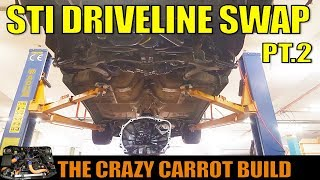 STI DCCD DRIVELINE UPGRADE - BUILT SF FORESTER - THE CARROT BUILD [2]