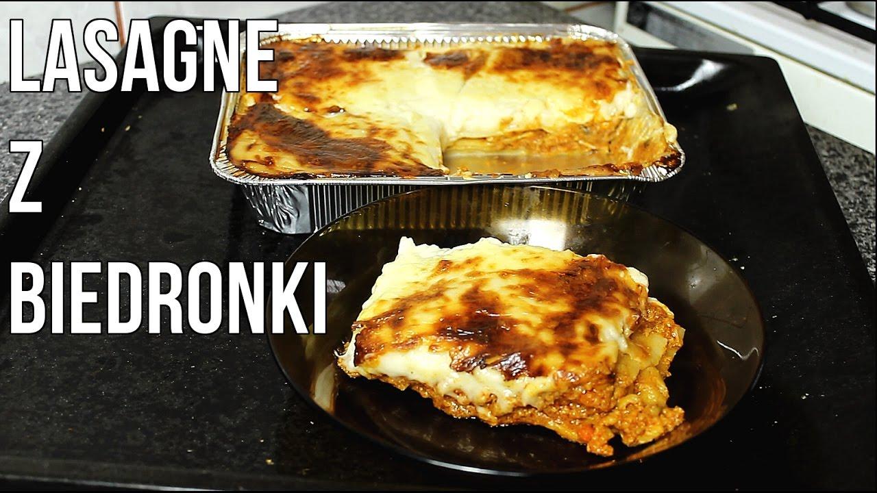 Lasagne Z Biedronki Testy Jedzenia Z Marketow 3