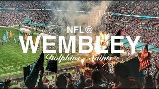 LET ME TAKE YOU TO WEMBLEY | NFL DOLPHINS VS SAINTS