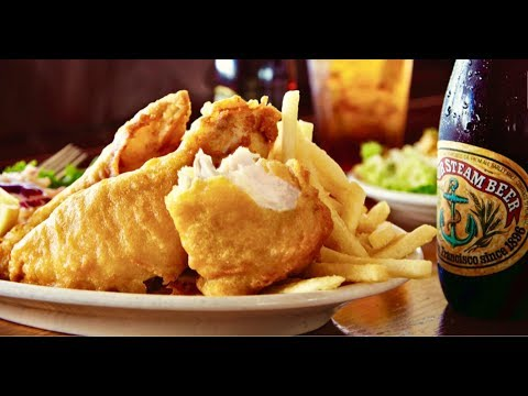 Anchor Steam Fish N Chips At Pier Market On PIER 39