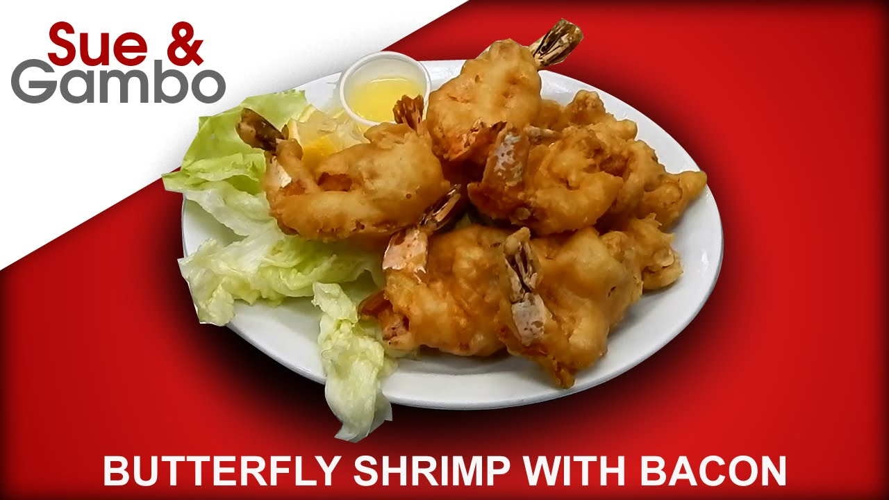 Butterfly Butterflied Shrimp With Bacon Youtube