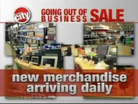 Circuit City Going Out of Business Commercial 2009