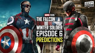 Falcon And The Winter Soldier EPISODE 6 Finale Theories And Predictions | Marvel MCU Easter Eggs