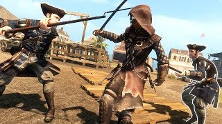 Assassin's Creed Liberation HD Bayou Hunter Outfit Combat & Free Roam