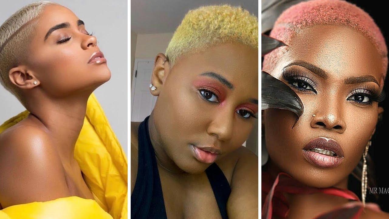 100 Short Hairstyles  for 2021 | MOHAWK, BUZZCUT, PIXIE, BALDIE, TWA etc