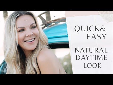 Quick & Easy Natural Daytime Makeup | Violetartistry
