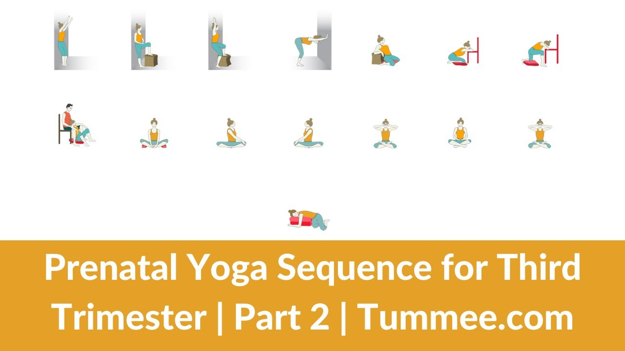 Prenatal Yoga Sequence Third Trimester Yoga Sequence Planning For Yoga Teachers Part 2 Tummee Com Youtube