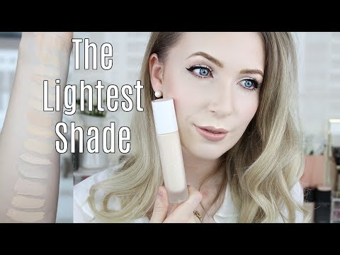 Fenty Beauty Pro Filt'r Foundation - 100   Full Review, Swatches, Demonstration on VERY PALE SKIN