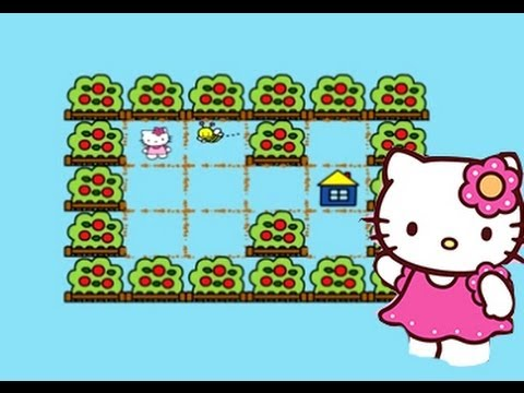Hello Kitty Online Games Bee Game - YouTube
