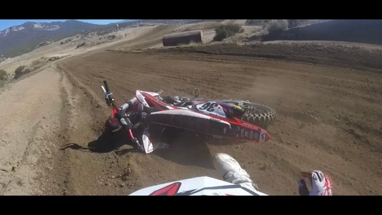 Summer Motocross with a good crash for free $