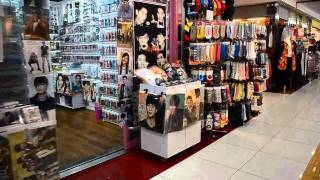 Shopping for k-pop stuff in Myeong-dong, Seoul