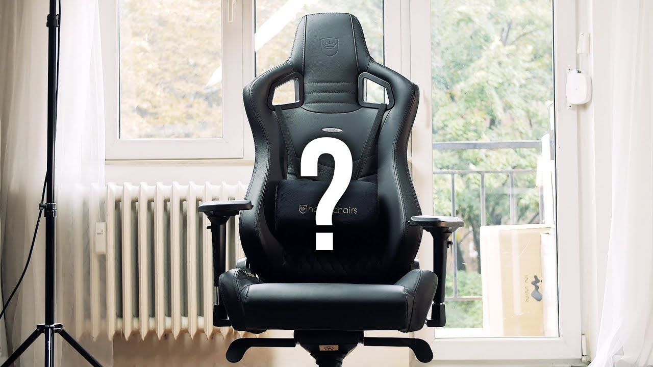 Ordinaire Noblechairs EPIC Real Leather Chair   Is It Really Epic?   YouTube