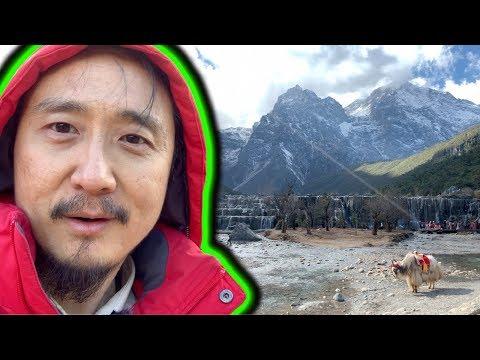 เที่ยว จีน ธรรมชาติ - ภูเขาหิมะมังกรหยก - หุบเขาทะเลสีน้ำเงิน ลี่เจียง    VLOG IN CHINA EP42