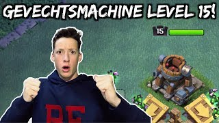 MET GEVECHTSMACHINE LEVEL 15 SPELEN! - Clash of Clans Nederlands [#8]