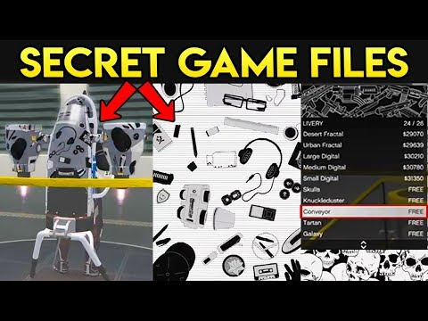 GTA Online: NEW FREE Stuff Still in Game Files - When Will it be Released? (GTA 5 Q&A)