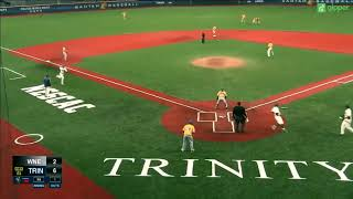 Trinity Baseball v. WNE Highlights ~ 4/25/18