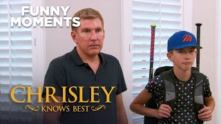 Chrisley Knows Best | Nanny Faye Mispronounces Organism | Funny Moment | S7 Ep24 | on USA Network