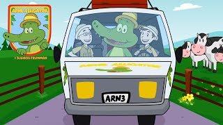 Arne Alligator & Djungeltrumman - Vi åker till landet