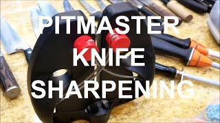 Sharpening BBQ Pitmater Knives Knife by Barbecue Champion Harry Soo How-to Barbeque