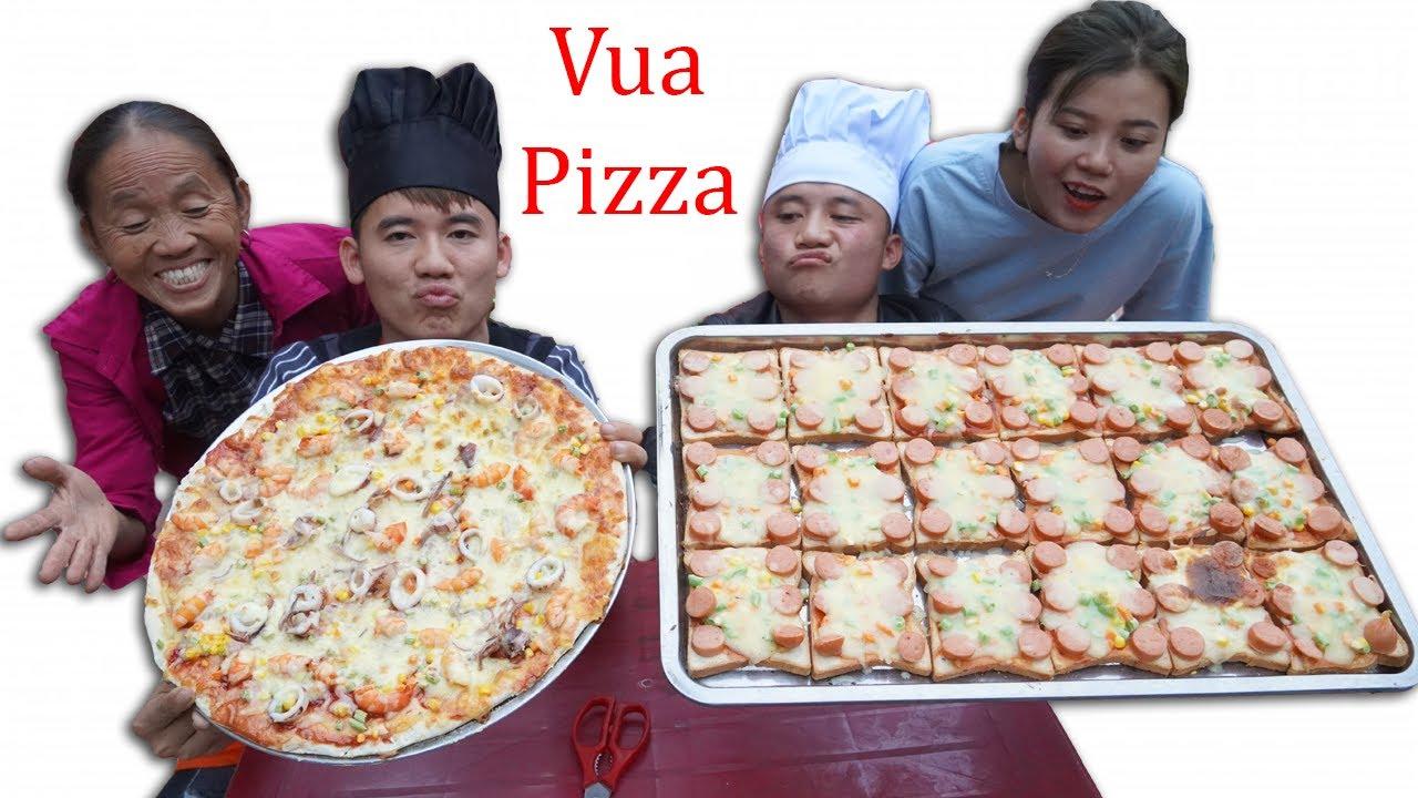 Hưng Vlog - Cuộc Thi Vua Đầu Bếp Của Gia Đình Bà Tân Vlog Tìm Ra Vua Pizza