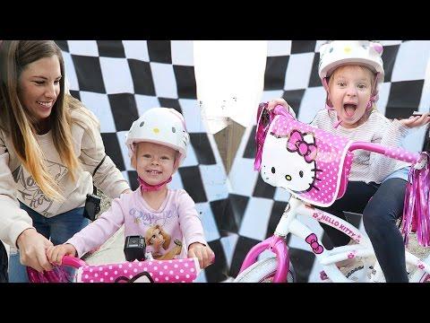 HELLO KITTY BICYCLE RACE!