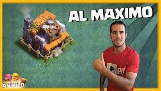 LLEGO EL DIA: MEJORO MI TALLER DE CONSTRUCTOR AL MAXIMO - CLASH OF CLANS con ANIKILO