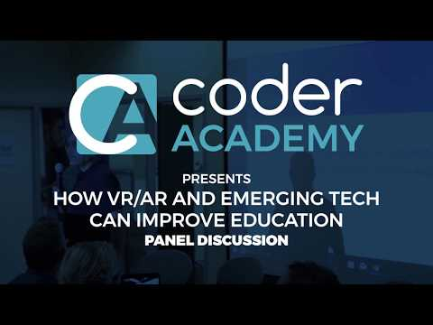 VR/AR Meetup - Pt. 1 Panel Discussion: The Reality Behind VR/AR/XR in Education