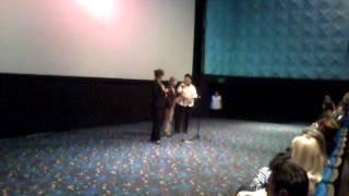 Анн Ле Ни на фестивале французского кино в Алматы